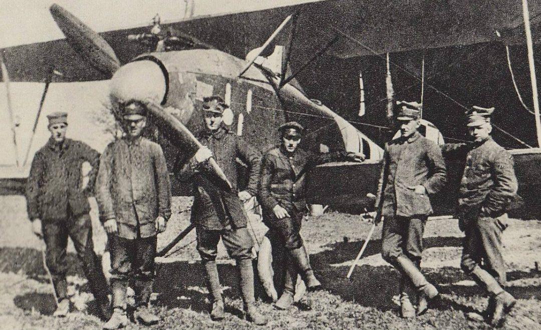 Początek lotnictwa i największy łup wojenny w historii Polski –  Bitwa o Ławicę